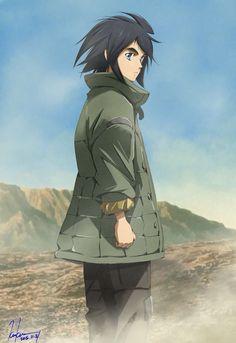 Mobile Suit Gundam: Tekketsu no Orphans (Mobile Suit Gundam: Iron-Blooded Orphans) Mikazuki Augus, Hobby People, Zelda Anime, Blood Orphans, Gundam Iron Blooded Orphans, Gundam Wallpapers, Gundam Seed, Gundam Art, Custom Gundam