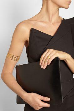 ARME DE L'AMOUR Gold-plated arm cuff $340