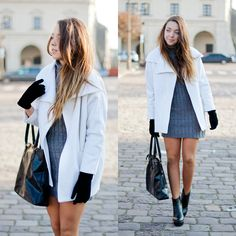MY BLOG: http://kolorowadusza.com/ http://www.facebook.com/pages/Kolorowa-Dusza/122079127874966 My tumblr: http://mowmigaba.tumblr.com/ INSTAGRAM http://instagram.com/kolorowa_dusza/  #look #fashion #outfit #ootd #lookbook #dress #classy #minimalism #minimalistic #casual #coat #tights