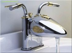 Perfect biker bling for the bathroom! by Shemekab
