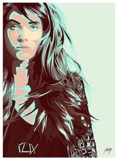 Featuring 25 Inspiring Vector Portraits | Vectortuts+