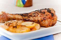Pata de pavo con especias - http://www.cocinatipo.com/recetas/carnes-y-aves/pata-de-pavo-con-especias asado, especias, pata, Pavo