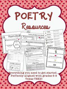 Poetry Theme Worksheet   Englishlinx.com Board   Pinterest ...