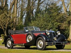 Horch 853 A Cabriolet 1939