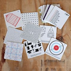How Fun (and practical!) - Bar Games Coasters