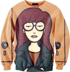 Next Halloween I'm dressing as Daria. I'm just going to need to find some Doc Martins stat.