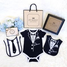 [Gift recommendation] The best Miyue newborn for your baby's happiness. The first choice for fest Baby Gift Sets, Baby Gifts, Gentleman, Birthday Gifts, Pure Products, Suits, Clothes, Collection, Birthday Presents