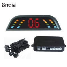 Car Parking Sensor Kit Car Auto LED Display 4 Sensors For All Cars Reverse Assistance Backup Radar Monitor Parking System