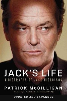 """Scaricare o Leggere Online Jack's Life: A Biography of Jack Nicholson (Updated and Expanded) Libri Gratis PDF/ePub - Patrick Mcgilligan, """"Jack's Life feels true.""""—Entertainment Weekly Jack Nicholson has lived large on and off the. Jack Nicholson, Tv Star, Biography Books, Star Wars, Cinema, Tough Guy, Page Turner, Hollywood Actor, Hollywood Actresses"""