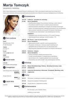 Kreator CV - Stwórz i pobierz profesjonalne CV w 5 minut!