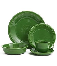 "Third color of my ""Fiesta ware"". This color is called Shamrock."