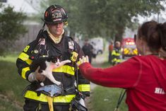 Firefighters Save Cat From House Fire: Emotional Reunion