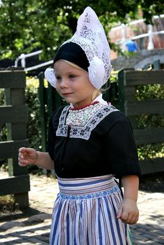 A young girl in Dutch traditional costume | Flickr - Photo Sharing!