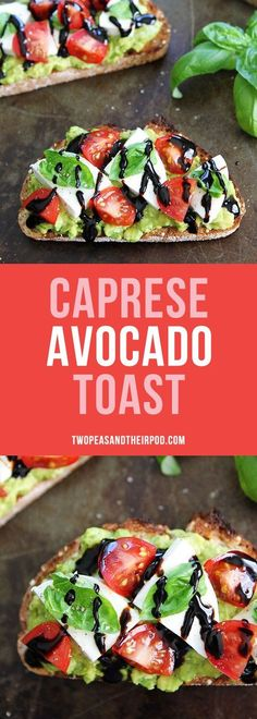 avocado toast with cottage cheese and tomatoes is the perfect