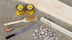 Cómo añadir un efecto de desgaste en madera nueva – Manos a la Obra