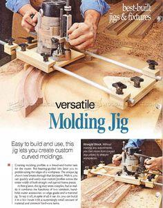 #2094 Molding Jig - Molding Construction