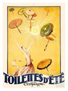 Toilettes d'Ete Giclee Print by Jean-Gabriel Domergue at Art.co.uk