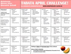 Good Fitness Blog with Monthly Challenges