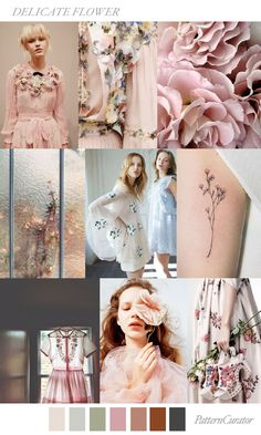 TREND_DELICATE FLOWER by PatternCurator | Saved by Gabby Fincham |