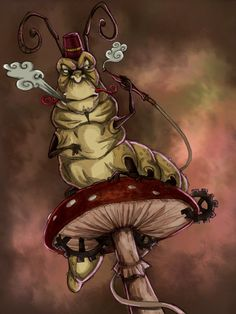 Alice madness returns - Caterpillar by ~fiszike on deviantART