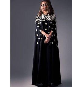 Hajib Fashion, Abaya Fashion, Modest Fashion, African Fashion, Fashion Dresses, Fashion Design, Abaya Designs, Abaya Mode, Hijab Stile