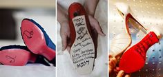 One of A Kind Wedding Shoes – Just Add Stickers!