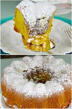 Bolo Magdalena de limão (azeite)