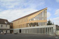 François Pompon High School Refurbishment / Charles-Henri Tachon