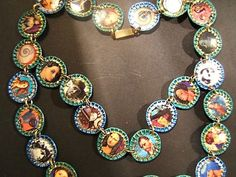 Vintage bottle cap double link necklace by jenuineserendipity, $29.00