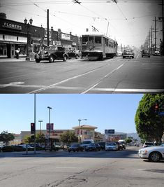 Looking north on Vermont Avenue from Sixth Street, c.1950-2012