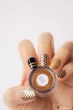 #nail #nails #nailart #unha #unhas #unhasdecoradas #polkadots #dots #poa #bolinhas 20 Inspiring Polka Dots Nail Art Designs