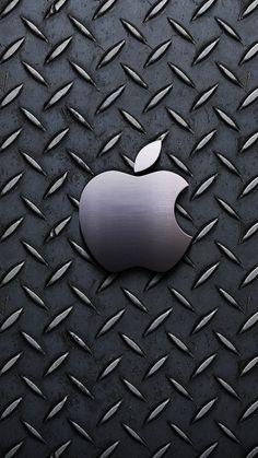 メタリック・アップル | iPhone Xの壁紙がダウンロードし放題