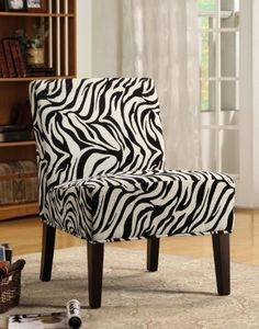 Lounger Accent Oversized Chair in Black and White Zebra Fabric by CozyStreet, http://www.amazon.com/dp/B0057LDBVC/ref=cm_sw_r_pi_dp_crxKpb1CT795C