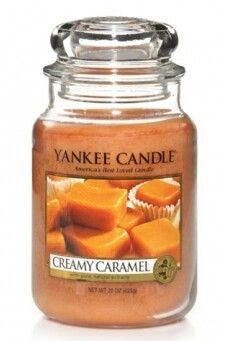 Creamy carmel scent