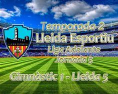 Liga Adelante (Jornada 5): Gimnàstic de Tarragona 1 - Lleida Esportiu 5
