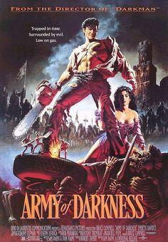 El ejército de las tinieblas (Army of darkness, 1992, Sam Raimi)                                                                                                                                                                                 Más