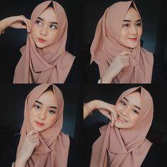 Inspired photo by 💙💛💜💚 Modern Hijab Fashion, Ulzzang Fashion, Casual Hijab Outfit, Hijab Chic, Hijabi Girl, Girl Hijab, New Hijab Style, Foto Fashion, Portrait Photography Poses