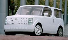 The Nissan Cube.