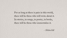 Nikita Gill #poetry #poem #writing