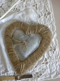 Heart into the heart. Hand made. EleganzadellOrca project.