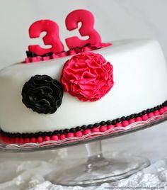 My birthday cake in April 2014