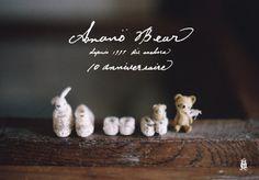 "Miniatures | Anano"" Bear 10anniversaire"