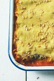 From The Kitchen: Spinach and Ricotta Cannelloni