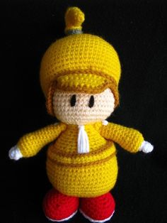 PDF Amigurumi Pattern inspired in Wolley in the by picuu on Etsy