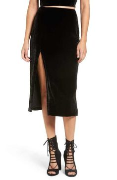 86e2c4eacd KENDALL + KYLIE Clothing for Women | Nordstrom. Kendall And Kylie ClothingVelvet  Midi SkirtCalf ...
