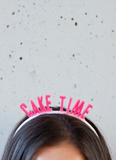 DIY: Birthday Headbands!