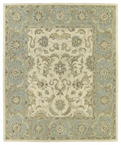 4052 01 Ivory Solomon Collection Kaleen Rugs