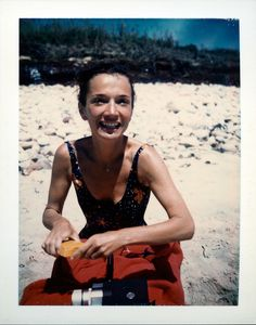 Andy Warhol - Polaroids - Lee Radziwill, 1972                                                                                                                                                                                 More