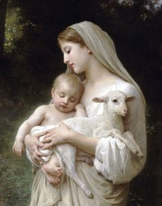 Mary & Jesus by Bouguereau   (One of my very favorite paintings.)