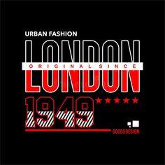Illustration about urban fashion london city vintage vector apparel. Illustration of apparel, city, vintage - 179888007 Typographic Design, Typography, Lettering, Slogan Writing, Vector Design, Logo Design, K Logos, Simple Prints, Street Art Graffiti